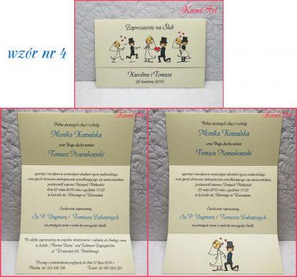 zaproszenia ślubne nowoczesne