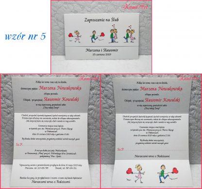 zaproszenia na wesele
