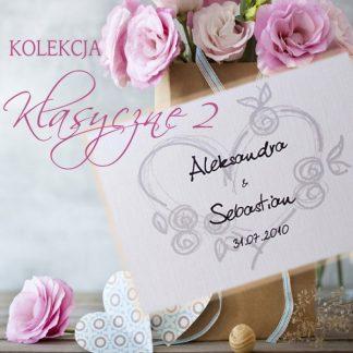 Klasyczne II - zaproszenia ślubne