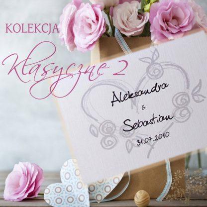 zaproszenia ślubne klasyczne
