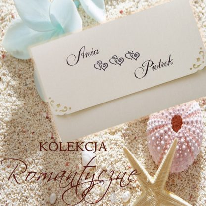 Romantyczne - zaproszenia ślubne