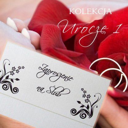 Urocze I - zaproszenia ślubne