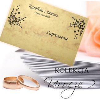 Urocze II - zaproszenia ślubne