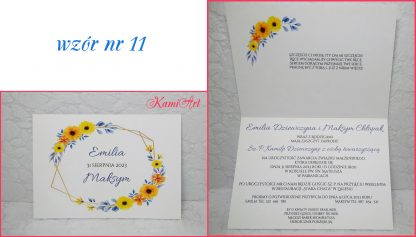 Boho - zaproszenia ślubne